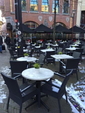 オランダのカフェ