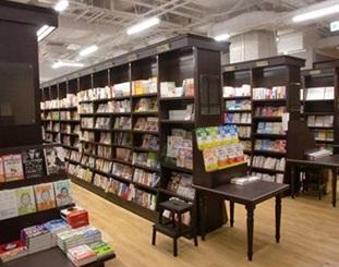 カフェ併設の書店
